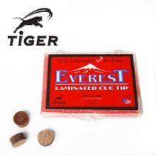 Tiger Everest Laminated Billiard Cue Tip - Medium Hardness