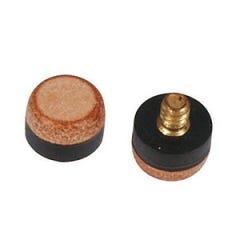 Screw On Cue Tips - Brass screw