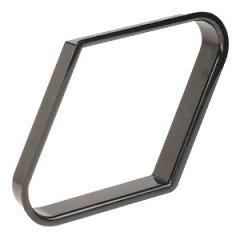 57.2 mm zwart plastic 9-Ball Poolbiljart Triangel