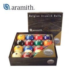 Aramith Tournament 57.2 mm Pool Balls with Duramith Technology