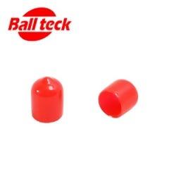 Rot Billard Queue Leder Beschützer - 11mm