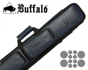 Taquera para Taco de Billar Buffalo De Luxe 4 x 8 - Azul