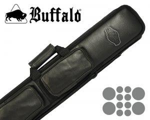 Taquera para Taco de Billar Buffalo De Luxe 4 x 8 - Negro