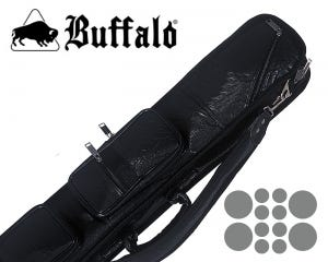 Etui queue de Billard Buffalo High End Noir 4x8