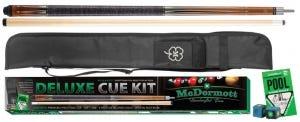 Bruin Deluxe Poolkeu Kit 3 + Foudraal + Accessoires door McDermott
