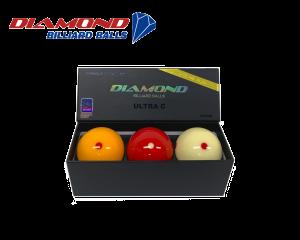 Diamond Ultra-C Dynamic 61,5mm Carom Billiard Balls
