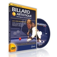 DVD - Artistic billiard - Jean Reverchon
