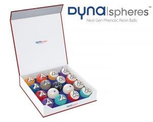 Bộ bi lỗ  Dynaspheres Platinum 572