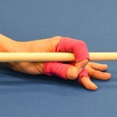 Fingerwrap Billiard Glove - Pink
