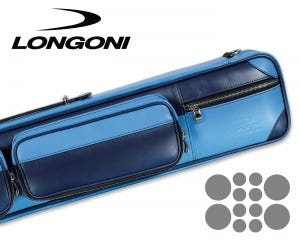 Longoni Giotto Oceano Cue Case - 4x8