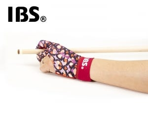 IBS Lady Billiard Glove - Red