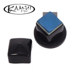 Kamui Chalk Shark Black - Magnetic Billiard Chalk Holder