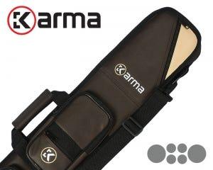 Karma Bara 2x4 Soft Cue Case - Brown/Beige