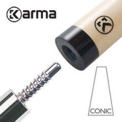 Karma CONIC Billiard Cue Shaft Libre/Cadre 65.5 cm