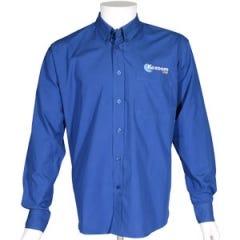 Kozoom Blue Billiard Dress Shirt