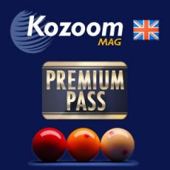 Annual Premium Pass for the English version of the Carom Magazine
