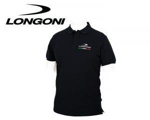 Áo thun Polo Longoni Black Polo