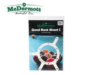 McDermott Good Rack Sheet 9 en 10 Ball