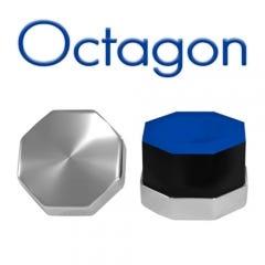 Octagonal Chrome Billiard Chalk Holder