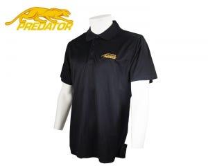 Predator Black Polo Shirt