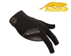 Predator SecondSkin Black-Grey billiard glove - Right Hand
