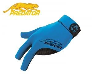 Predator SecondSkin Blue billiard glove