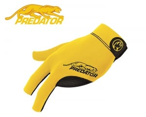 Predator SecondSkin Yellow billiard glove