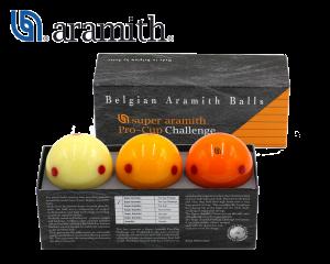 Aramith Pro-Cup Challenge - Carom Billiard Balls