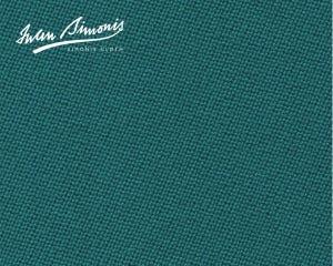 Simonis 300 Rapide Carom Billiard Cloth or Billiard Felt- Blue Green