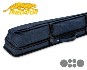 Predator Urbain 2x4 Soft cue case - Blue