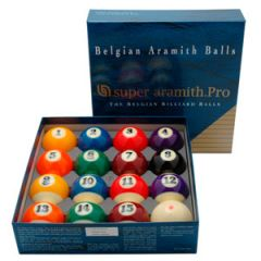 Aramith Super Pro 57,2 mm - US Pool Biljartballen