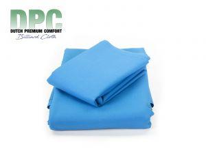 Tapis de Billard Français synthétique DPC Bleu Prestige - Set prédécoupé avec bandes