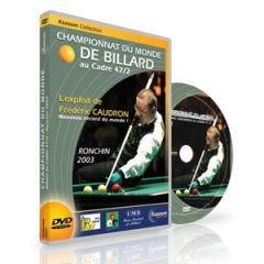 DVD Billard Championnat du Monde au Cadre 47/2 - Ronchin 2003