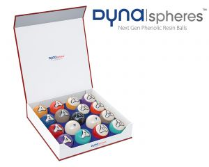 Dynaspheres Platinum 572 Poolballenset
