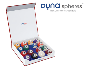 Pool Billiard Balls Dynaspheres Silver 572