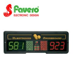 Favero Play 6 Billiard Electronic Scoreboard