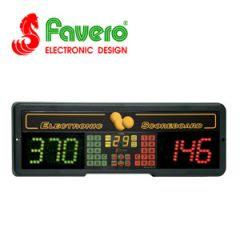 Favero Play 6T Electronic Scoreboard with Timer