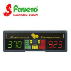 Favero Play 8 Electronic Scoreboard