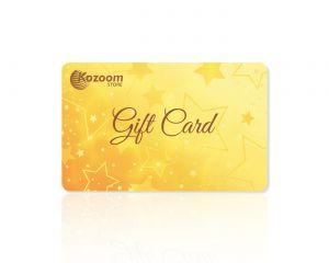 Carte Cadeau Kozoom