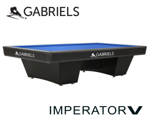 Gabriels Imperator V Carom Billiard Table - 284 x 142 cm