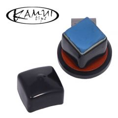 Kamui Chalk Shark Brown - Magnetic Billiard Chalk Holder