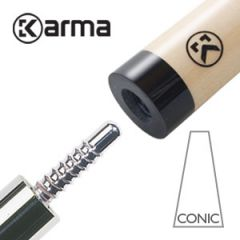 Karma CONIC Billiard Cue Shaft Libre/Cadre 65.5 cm