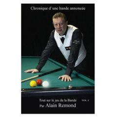 Billiard Book Chronique d'une Bande Annoncée by Alain Remond