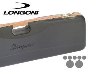 Longoni Avant Pro Black 2x5 or 3x4 Billiard Cue Case