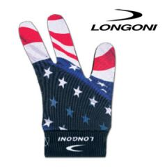 Billard Handschuh Longoni - USA Flagge
