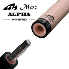 Mezz Hybrid Alpha Pool Cue Shaft - Wavy Joint