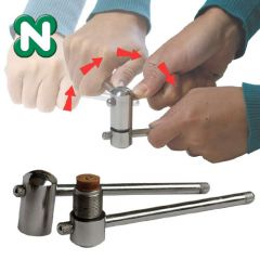 Norditalia Steel Cue Tip Press - Up to 14 mm