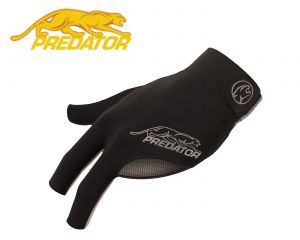 Predator Billard Handschuh SecondSkin Schwarz-Grau
