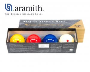 Super Aramith Carom 4 Balls Pro Cup Set