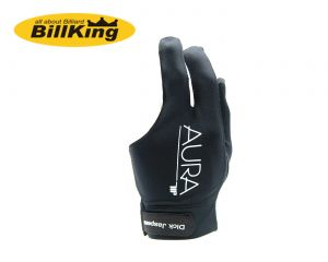Aura billiard glove by Dick Jaspers - Black